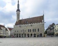 Tallinn, estonia, europe, town hall square Stock Image