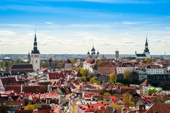 Tallinn, Estonia at the old city. Stock Photography