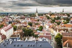 Tallinn, Estonia at the old city. Stock Photography