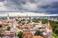 Tallinn, Estonia at the old city. Stock Images