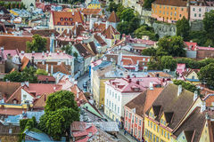 Tallinn, Estonia at the old city. Royalty Free Stock Photo