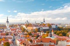 Tallinn. Estonia. Old city. Royalty Free Stock Image