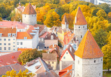 Tallinn. Estonia. Old city. Stock Photos