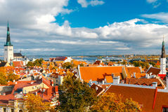 Tallinn. Estonia. Old city. Stock Photo