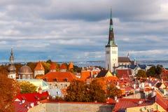 Tallinn. Estonia. Old city. Royalty Free Stock Photography