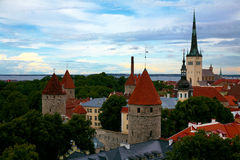 Tallinn, Estonia old city Royalty Free Stock Photo