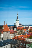 Tallinn, Estonia old city view. Stock Image