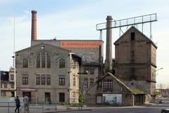 Tallinn, Estonia. The old industry buildings Stock Image