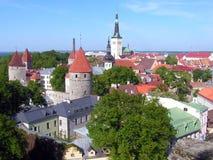 Tallinn, Estonia old town Stock Photography