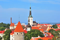Tallinn, Estonia. Old Town Royalty Free Stock Photos
