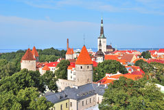Tallinn, Estonia. Old Town Stock Photo