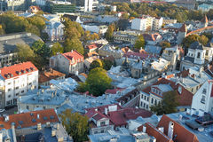 Tallinn Estonia Rooftops Stock Photos
