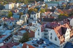 Tallinn Estonia Rooftops Royalty Free Stock Images