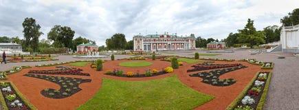 TALLINN, ESTONIA- SEPTEMBER 7, 2015: Kadriorg Palace, at Kadriorg Park on September 7, 2015 in Tallinn, Estonia Stock Image