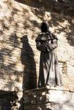 TALLINN, ESTONIA - SEPTEMBER 09, 2016: Monk sculptures in the Da stock photo