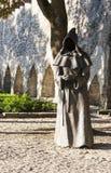 TALLINN, ESTONIA - SEPTEMBER 09, 2016: Monk sculptures in the Da Royalty Free Stock Image