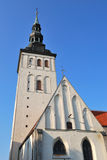 Tallinn, Estonia. St. Nicholas Church Royalty Free Stock Photo