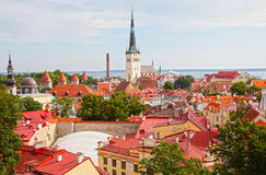 Tallinn Estonie Images libres de droits