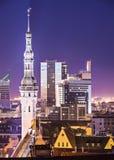 Tallinn, Estonie Image stock