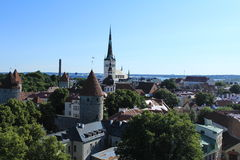 Tallinn, Estonie Photographie stock libre de droits