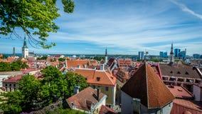 Tallinn, Estonie Photographie stock