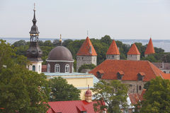 Tallinn Estonie l'Europe Photos libres de droits