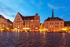 tallinn för estonia korridorfyrkant town arkivfoto