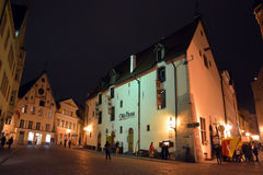 Tallinn famous restaurant Olde Hansa Royalty Free Stock Photos