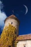 Tallinn góruje spadek Zdjęcie Stock