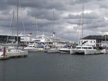 Tallinn-Hafen Lizenzfreie Stockbilder