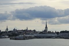 Tallinn harbor Royalty Free Stock Photo