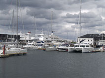 Tallinn harbour Royalty Free Stock Images
