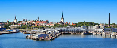 Tallinn Harbour Stock Photography