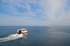 Tallinn Helsinki avec le ferry en deux heures Images libres de droits