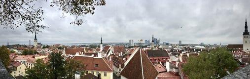 Tallinn hermosa imagenes de archivo