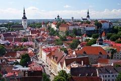 Tallinn historique Photo libre de droits