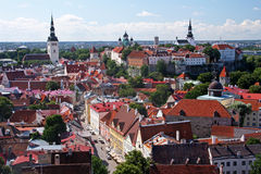 Tallinn histórica Foto de archivo libre de regalías