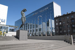 Tallinn. Hotel da cidade de Tallink Imagens de Stock Royalty Free