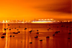 Tallinn In Gold Stock Photography