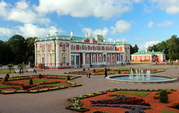 Tallinn, Kadriorg Palace Royalty Free Stock Photo