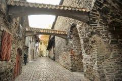 Tallinn. Katarina lane Stock Image