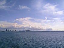 Tallinn linia horyzontu obrazy royalty free