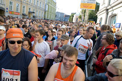 Tallinn Marathon Royalty Free Stock Photos