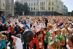 Tallinn Marathon Stock Image