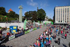 Tallinn Marathon Royalty Free Stock Images