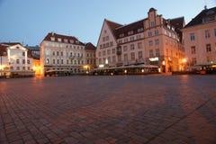Tallinn medieval stock image