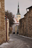 Tallinn medieval old town, Estonia Royalty Free Stock Image