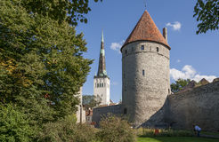 Tallinn Medieval Town. Tallinn City,Estonia Royalty Free Stock Photography