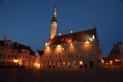 Tallinn medieval Town Hall Stock Photography