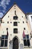 Tallinn miasta Theatre (Tallinna Linnateater) Fotografia Royalty Free